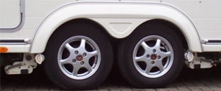 Powrtouch All Wheel Drive Twin Caravan Mover
